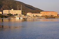 - Sardegna, isola dell' Asinara, il &quot;Palazzo Reale&quot;  e strutture del sanatorio a Cala Reale<br /> <br /> Sardinia, Asinara island, the &quot;Royal Palace&quot; and facilities of the sanatorium at Cala Reale