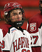 Conor Morrison (Harvard - 38) - The Class of 2013 was celebrated following the final Harvard Crimson home game of the season on Saturday, March 2, 2013, at Bright Hockey Center in Cambridge, Massachusetts.