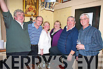 Having a laugh at the new year celebrations in Browne's bar Ballyduff were Donie Lynch, Padraig and Patricia Reidy, Mary and Brendan Ashe and Jimmy Bowler...
