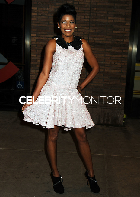 NEW YORK CITY, NY, USA - NOVEMBER 10: Tamron Hall arrives at the 2014 Glamour Women Of The Year Awards held at Carnegie Hall on November 10, 2014 in New York City, New York, United States. (Photo by Celebrity Monitor)