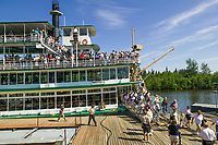 Riverboat Discovery along the Chena River, Fairbanks, Alaska