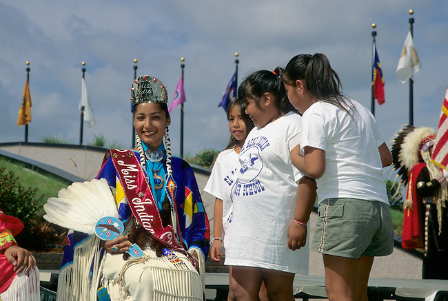 Crowned Miss Indian Oklahoma is an inspiration to many young Native American girls throughout the state.