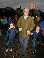 Prince Laurent, Princess Claire of Belgium and their kids