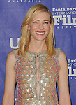 Cate Blanchett arriving at the 29th Santa Barbara International Film Festival which honored her with the Outstanding Performer Of The Year Award. Held at the Arlington Theatre Santa Barbara, CA. on February 1, 2014.
