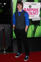 "LOS ANGELES, CA - FEBRUARY 04: Joel Courtney at the Los Angeles Premiere Of The Weinstein Company's ""Vampire Academy"" held at Regal Cinemas L.A. Live on February 4, 2014 in Los Angeles, California. (Photo by Xavier Collin/Celebrity Monitor)"