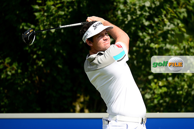 Ricardo Gouveia of Portugal during Round 3 of the Lyoness Open, Diamond Country Club, Atzenbrugg, Austria. 11/06/2016<br /> Picture: Richard Martin-Roberts / Golffile<br /> <br /> All photos usage must carry mandatory copyright credit (&copy; Golffile   Richard Martin- Roberts)