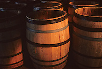Europe/France/Poitou-Charentes/16/Charente/Cognac/Tonnellerie Seguin Moreau : Détail  de barrique<br /> PHOTO D'ARCHIVES // ARCHIVAL IMAGES<br /> FRANCE 1990