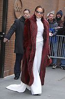 NEW YORK, NY - December 12: Jennifer Lopez at The View in New York City on December 12, 2018. Credit: RW/MediaPunch