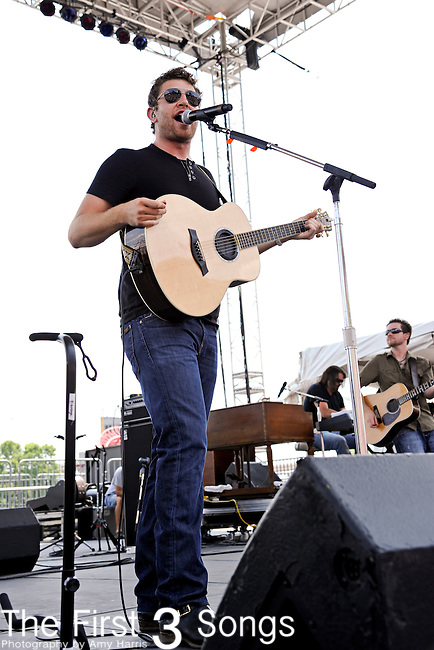 Brett Eldredge performs at LP Field during the 2011 CMA Music Festival on June 10, 2011 in Nashville, Tennessee.