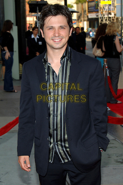 "FREDDY RODRIGUEZ.HBO presents the Fifth Season Premiere of ""Six Feet Under"" at Grauman's Chinese Theatre, Hollywood, .California, USA, May 17th 2005..half length.Ref: ADM.www.capitalpictures.com.sales@capitalpictures.com.©J.Wong/AdMedia/Capital Pictures."