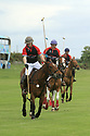 Tyrella House Polo player Jamie McCarthy takes the lead in a class at Tyrella House, County Down, Monday June3rd, 2019. (Photo by Paul McErlane for Belfast Telegraph)