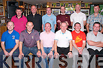 Charity night : Members of Mike the Pie's Golf Society pictured at the Captain's charity night in aid of the Irish Kidney Association at Mike the Pie's bar on Saturday nigh last. Front: Seamie Browne, Jimmy Dore, incoming captain Tommy Canavan, outgoing captain Alan Grimes, Mikey Paul Kelliher & John O'Connor. Back : Brendan Kelliher, Sean Carey, Mikie Connor, Thoe Lynch, Dan Molyneaux & Jonathaon Kelliher.
