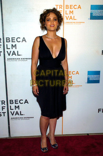 "ERIKA CHRISTENSEN.6th Annual Tribeca Film Festival - ""Gardener of Eden"" premiere held at the Borough of Manhattan Community College, New York City, New York, USA, 26 April 2007..full length black dress erica.CAP/ADM/BL.©Bill Lyons/AdMedia/Capital Pictures. *** Local Caption ***"