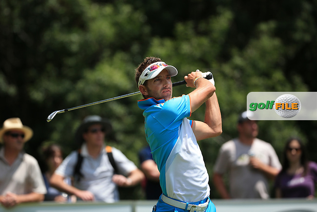 Jbe Kruger (RSA) in action during Round Three of the 2016 BMW SA Open hosted by City of Ekurhuleni, played at the Glendower Golf Club, Gauteng, Johannesburg, South Africa.  09/01/2016. Picture: Golffile | David Lloyd<br /> <br /> All photos usage must carry mandatory copyright credit (&copy; Golffile | David Lloyd)