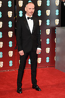 Ewen Bremner at the 2017 EE British Academy Film Awards (BAFTA) held at The Royal Albert Hall, London, UK. <br /> 12 February  2017<br /> Picture: Steve Vas/Featureflash/SilverHub 0208 004 5359 sales@silverhubmedia.com