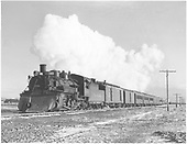 #488 leaving Antonito with San Juan.<br /> D&amp;RGW  Antonito, CO  Taken by Richardson, Robert W. - 9/31/1951