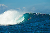 Namotu Island Resort, Fiji.  (Monday, March 21, 2011). A new swell in the 4'-6' range provided excellent sessions at Cloudbreak today.  . Photo: joliphotos.com