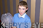 Champion jokey Jack Kenndy from Dingle who received his award for national juvenile jockey at the HPRA social last Saturday night in The Devon Inn, Templeglantine.