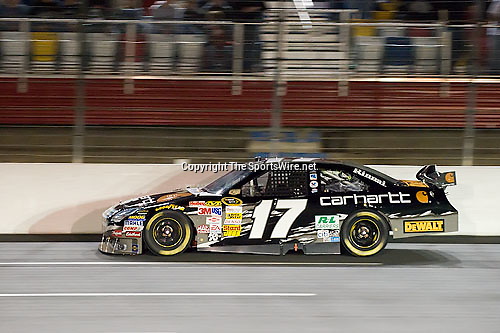 Oct 11, 2008; 6:55:12 PM;  Concord, NC, USA; Nascar Sprint Cup Series for the Bank of America 500  at Lowe's Motor Speedway. Mandatory Credit: Joey Millard