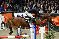 ZUIDBROEK - Paardensport, ICCH Zuidbroek, springen internationaal Grote Prijs , 05-01-2019, Martine Gramsbergen-Hoeks met Zippit Gh