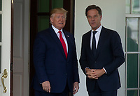 Prime Minister of the Netherlands Mark Rutte Arrives to the White House