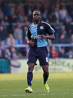 Marcus Bean of Wycombe Wanderersduring the Sky Bet League 2 match between Wycombe Wanderers and Northampton Town at Adams Park, High Wycombe, England on 3 October 2015. Photo by Andy Rowland.