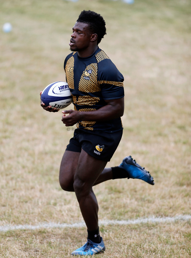 Photo: Richard Lane Photography. Wasps Training. 10/07/2017. Wasps' Christian Wade.
