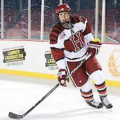 Eric Kroshus (Harvard - 10) - The Union College Dutchmen defeated the Harvard University Crimson 2-0 on Friday, January 13, 2012, at Fenway Park in Boston, Massachusetts.