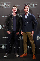 English actors James and Oliver Phelps, who played the mischievous twins Fred and George Weasley in the Harry Potter movie saga, during the opening of Harry Potter: The Exhibition in Madrid. November 16, 2017. (ALTERPHOTOS/Acero) /NortePhoto.com