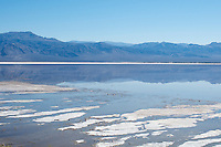 Salt Lake in Saline Valley, Death Valley National Park, California