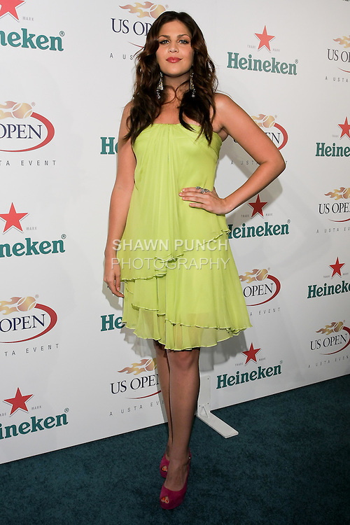 Hillary Scott of Lady Antebellum arrives at the US Open Player Party at The Empire Hotel, August 27, 2010.
