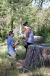 Surprise Proposal, Bass Lake, Yosemite Half Marathon, Yosemite National Park, 5.12.18<br />