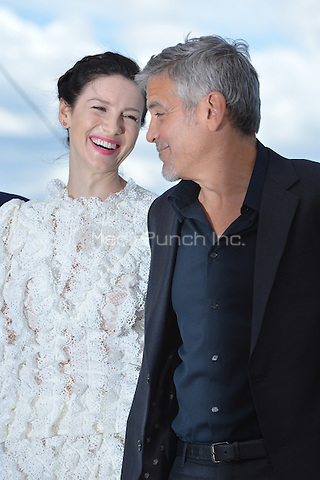 Caitriona Balfe and George Clooney at the Photocall &laquo;Money Monster` - 69th Cannes Film Festival on May 12, 2016 in Cannes, France.<br /> CAP/LAF<br /> &copy;Lafitte/Capital Pictures<br /> Caitriona Balfe and George Clooney at the Photocall &acute;Money Monster` - 69th Cannes Film Festival on May 12, 2016 in Cannes, France.<br /> CAP/LAF<br /> &copy;Lafitte/Capital Pictures /MediaPunch ***NORTH AMERICA AND SOUTH AMERICA ONLY***