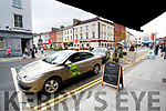 Taxi's in Tralee Town Centre.