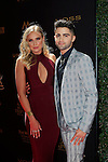 LOS ANGELES - May 1: Veronica Dunne, Max Ehrich at The 43rd Daytime Emmy Awards Gala at the Westin Bonaventure Hotel on May 1, 2016 in Los Angeles, California