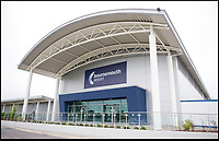 BNPS.co.uk (01202 558833)<br /> Pic: RogerArbon/BNPS<br /> <br /> Bournemouth Airport.<br /> <br /> A Millionaire claimed he should be shown more courtesy because of his wealth after abusing check-in staff at an airport.<br /> <br /> The property developer has now been fined after launching a foul-mouthed tirade at 'petrified' airport staff who told him his hand luggage was too heavy.<br /> <br /> Neil Grinnall (56), of Sandbanks, Dorset, was catching a flight from Bournemouth to Spain when he 'lost his temper' at check-in staff.<br /> <br /> The businessman has previously been cautioned by police after launching a stool over the bar at Rick Stein's restaurant in the millionaires enclave of Sandbanks whilst on a night out with tv celebrity Celia Sawyer in 2017.