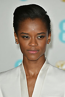 Letitia Wright<br /> The EE British Academy Film Awards 2019 held at The Royal Albert Hall, London, England, UK on February 10, 2019.<br /> CAP/PL<br /> ©Phil Loftus/Capital Pictures