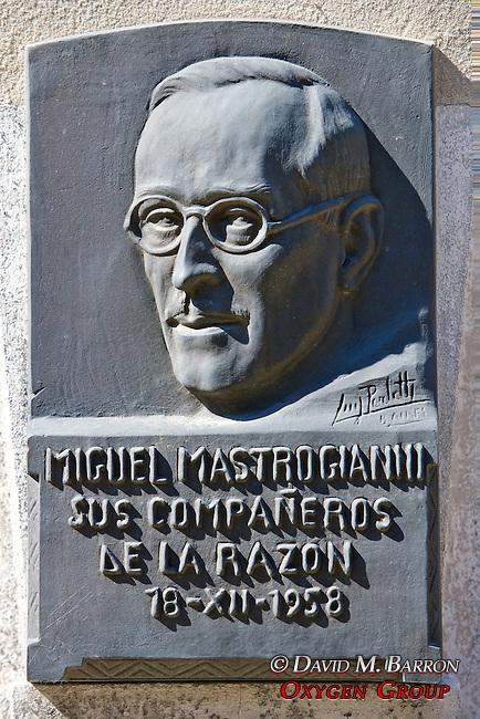 Miguel MAstrogianni Tomb, La Recoleta Cemetery