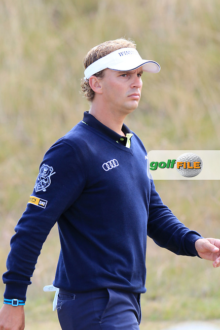 Joost LUITEN (NED) walks off the 6th tee during Friday's Round 2 of the 2015 U.S. Open 115th National Championship held at Chambers Bay, Seattle, Washington, USA. 6/19/2015.<br /> Picture: Golffile | Eoin Clarke<br /> <br /> <br /> <br /> <br /> All photo usage must carry mandatory copyright credit (&copy; Golffile | Eoin Clarke)