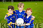 l-r  Jimmy Healy, Cian Gilroy and Cathal Carr. Enjoying the Ballymac Cul Camp on Monday