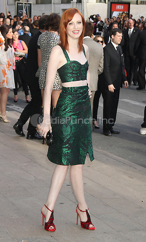 June 04, 2012 Karen Elson at the 2012 CFDA Fashion Awards at Alice Tully Hall Lincoln Center in New York City. © RW/MediaPunch Inc. ***NO GERMANY***NO AUSTRIA***
