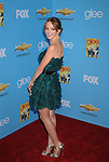 "HOLLYWOOD, CA. - September 07: Jayma Mays attends the ""Glee"" Season 2 Premiere Screening And DVD Release Party at Paramount Studios on September 7, 2010 in Hollywood, California."