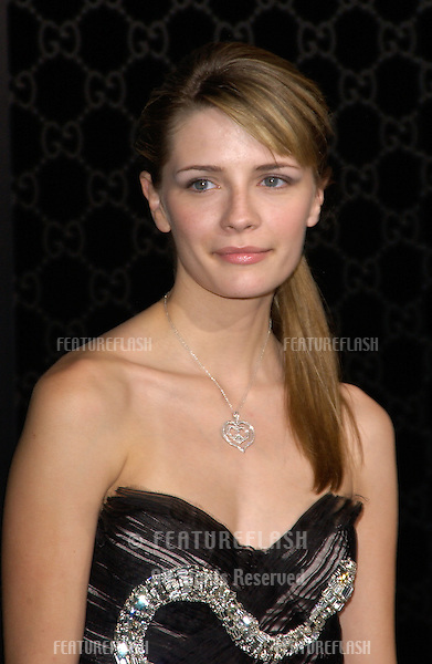 Actress MISCHA BARTON at the Rodeo Drive Walk of Style Gala honoring Gucci's Tom Ford..March 28, 2004