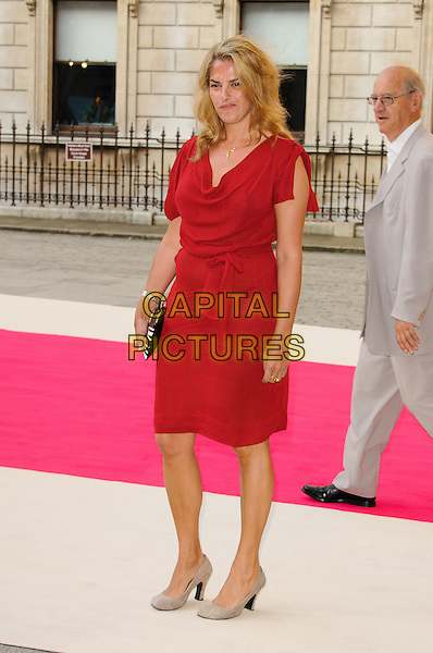 Tracey Emin.Arrivals at the Royal Academy Summer Exhibition 2012 - preview party held at the Royal Academy of Arts, London, England..May 30th, 2012.full length red dress.CAP/CJ.©Chris Joseph/Capital Pictures.