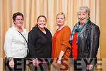 l-r  Julie McMahon, Cloonbeg Terrace,Tralee, Bernadette McMahon, Ashcourt, Ashley Downs, Cathie Sheehan, Lowercannon and Margaret Sheehan, Lowercannon. at the Tidy Tralee Together Awards night at Fels Point Hotel on Monday