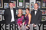 Pictured at the Brothers of Charity Gala night, celebrating 30 years in Newcastle West at the Devon Inn Hotel Temleglantine on Thursday, was L-R: Sean Donovan, Dromtrasna, Angela O'Grady, Templeglantine, Aoife Keogh, Abbeyfeale, Dan Kelliher, Foynes.