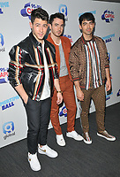 Jonas Brothers (Nick Jonas, Kevin Jonas and Joe Jonas) at the Capital FM Summertime Ball 2019, Wembley Stadium, Wembley, London, England, UK, on Saturday 08th June 2019.<br /> CAP/CAN<br /> ©CAN/Capital Pictures