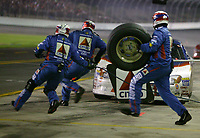 Jeff Burton, 99, pit stop, UAW-GM Quality 500, Charlotte Motor Speedway, Charlotte, NC, October 11, 2003.  (Photo by Brian Cleary/bcpix.com)
