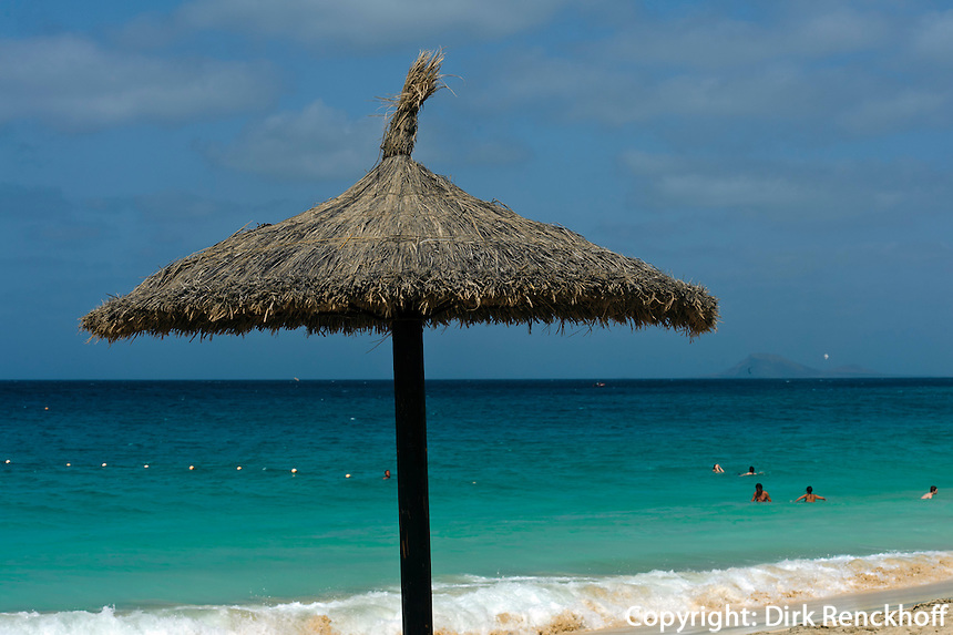 Strand von Hotel Riu, Santa Maria, Sal, Kapverden, Afrika
