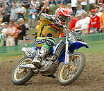 Motocross, MX2 WM 2004, Weltmeisterschaft, Grand Prix of Europe, Gaildorf (Germany) Marcus Schiffer (GER), Yamaha